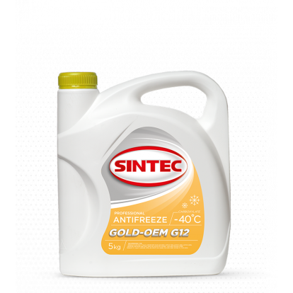 Sintec ANTIFREEZE GOLD G12