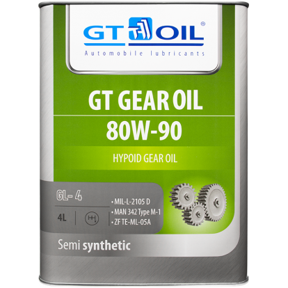 GT Gear Oil 80W-90 GL-5